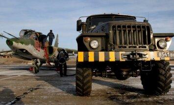 Krievijā avarējusi kaujas lidmašīna Su-25; pilots gājis bojā