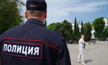 Novosibirskā policija izjaukusi Sibīrijas federalizācijas atbalsta demonstrāciju