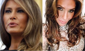 Foto: Sieviete iztērē 50 tūkstošus, lai izskatītos kā Melānija Trampa