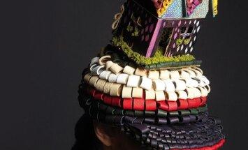 5 дизайнеров создали 5 шляп в честь 5-летия L`Officiel Latvija