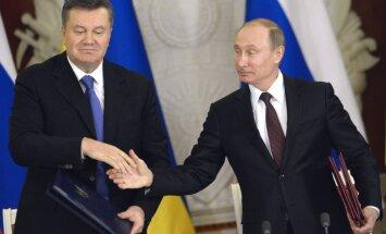 Janukovičs un viņa sabiedrotie kļuvuši par Putina ķīlniekiem, uzskata ministra padomnieks