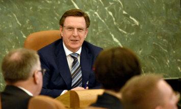 ZZS ministru tikšanās ar Dvorkoviču nemainīs Latvijas oficiālo pozīciju, sola Kučinskis
