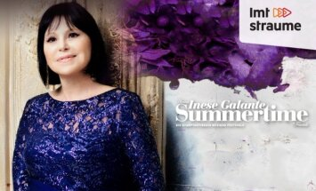 Festivāla 'Summertime – aicina Inese Galante' noslēguma koncerts. (Tiešraide beigusies)