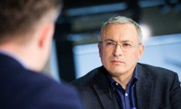 Ходорковский в Вильнюсе сравнил путинский режим в России с режимом Франко