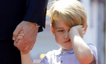 Karaliska niķošanās: mazais princis parāda raksturu