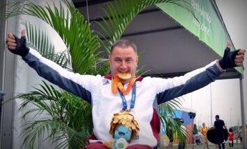 Самый титулованный латвийский паралимпиец получил от Рижской думы 35 940 евро