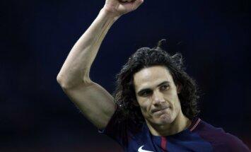Kavani pārspēj Ibrahimoviča rekordu un kļūst par rezultatīvāko PSG futbolistu