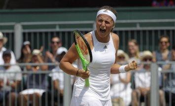 Ostapenko iekļūst Vimbldonas čempionāta ceturtdaļfinālā un tiksies ar Venusu Viljamsu