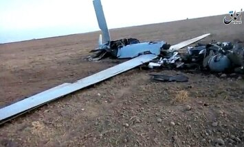 Video: 'Daesh' džihādisti Mosulas tuvumā notriec kaujas dronu