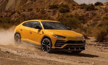 Pēc 'Lamborghini' apvidnieka 'Urus' ir necerēti liels pieprasījums