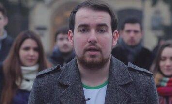 Video: 'Gribam cīnīties olimpiādēs, nevis Donbasā' – Ukrainas studentu uzsaukums Krievijas kolēģiem