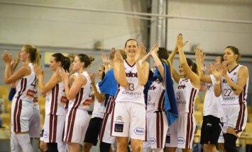Latvijas basketbolistes pēdējā pārbaudes spēlē pirms Pasaules kausa uzveic Kanādu