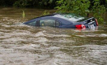 Pieaudzis bojāgājušo skaits plūdos Luiziānas štatā