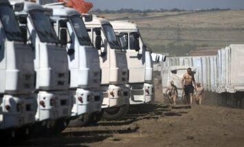 Krievija sola jaunas 'humānās palīdzības' piegādes Ukrainai