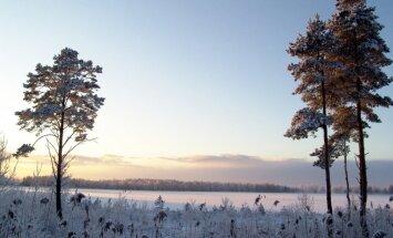 Vietām Kurzemē -15 grādu, krietns sals arī citviet