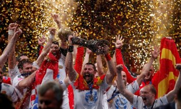 Krištopāna nākamais klubs 'Vardar' triumfē EHF Čempionu līgā