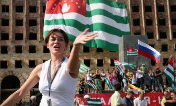 Gruzija brīdina Krieviju atturēties no tālākiem soļiem Abhāzijas integrēšanā