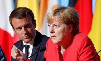 Merkele un Makrons pauž atbalstu Spānijai Katalonijas krīzē