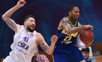 Maskavas CSKA basketbolisti astoto reizi kļūst par Vienotās līgas čempioniem
