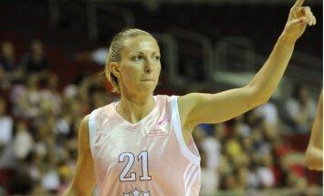 Latvijas izlases basketboliste Kārkliņa pārcēlusies uz Turcijas klubu 'Belediye'