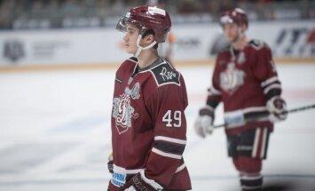 Ģēģeris nosaukts par KHL nedēļas labāko jauno hokejistu