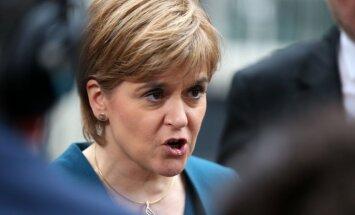 Skotijas līdere vīlusies par Breksita sarunām ar Meju