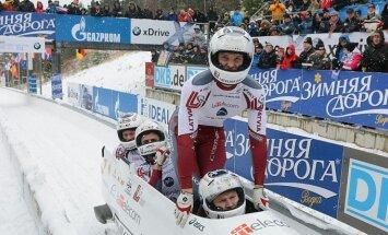 'Gazprom' ir bobsleja galvenais sponsors, par IBSF vilcināšanos saka LBSF prezidents