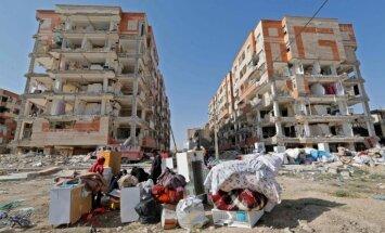 Bojāgājušo skaits Irānas zemestrīcē pieaudzis līdz 483