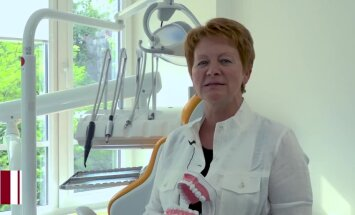 Agrīni bojājumi pusaudžiem ir vērojami vidēji deviņos zobos; profesore stāsta par kariesa profilaksi