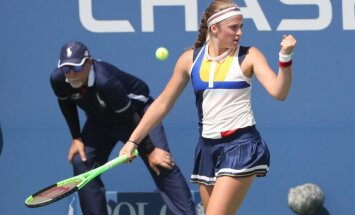 Новая высота Остапенко: первая ракетка Латвии впервые вышла в 1/16 финала US Open