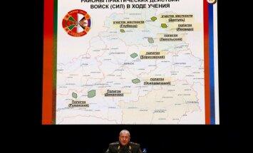 Baltkrievija 'Zapad' mācībās karos ar izdomātu valsti – Vejšnoriju