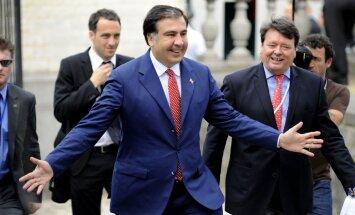 Ukrainā 25 000 parakstījušies par bijušā Gruzijas prezidenta Saakašvili iecelšanu premjera amatā