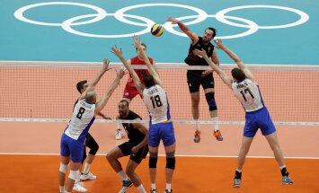 В 1/4 финала Литва проиграла в баскетболе, а Россия победила в волейболе