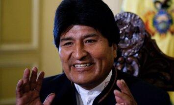 Bolīvijas prezidents nevarēs kandidēt uz ceturto termiņu