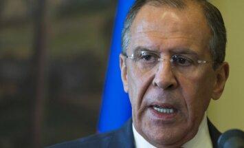 Virsraksts par 'krievu spīdzinātu' ukraiņu aktīvistu sanikno Lavrovu