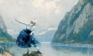 Latvijas Nacionālajā baletā iestudēts Štrausa 'Pie zilās Donavas'