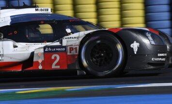Calko sasniedz finišu Lemānas 24 stundu sacensības; trešo reizi pēc kārtas uzvar 'Porsche'