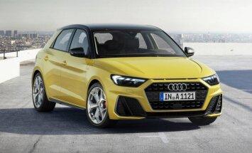'Audi' parādījis jaunās paaudzes 'A1' modeli