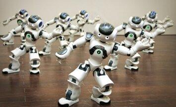 Roboti radīs vairāk darbavietu nekā aizstās, secina ietekmīga domnīca