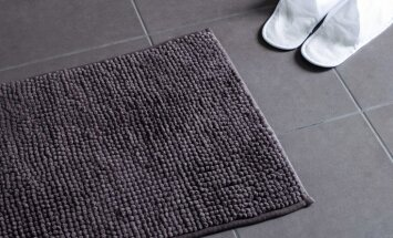Mīkstais vannasistabas paklājs – kopšanas likumi, lai tas izskatītos kā jauns