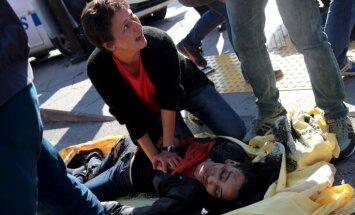 Video: Sprādzienā Ankarā vismaz 30 bojāgājušie, ievainoti 126