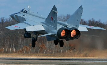 Burjatijā nogāzies iznīcinātājs–pārtvērējs MiG-31