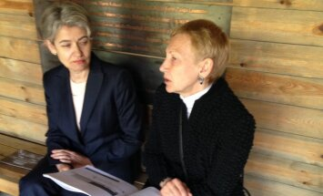 Zaiga Gaile tikusies ar UNESCO ģenerāldirektori Okupācijas muzeja ēkas saglabāšanas jautājumā