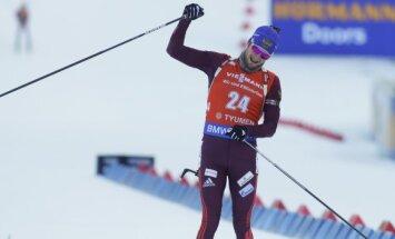 Цветков выиграл масс-старт в Тюмени, Расторгуев — 27-й, Фуркад — без рекорда