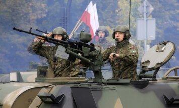 Aptauja: liela daļa poļu uzskata, ka vajadzības gadījumā jāaizstāv Baltijas valstis
