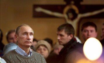 Putinu prezidenta vēlēšanās atbalstītu 74 % Krievijas vēlētāju, liecina aptauja