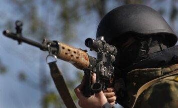 Naktī Ukrainas drošībnieki likvidējuši separātistu kontrolpunktu; viens aizturētais