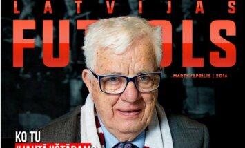 Maestro Raimonda Paula futbola kaisle – izdevuma 'Latvijas futbols' numura 'nagla'