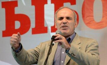 Kasparovs Putina diktatūru pielīdzina Hitlera varai