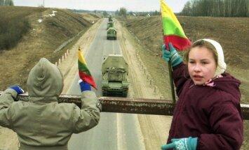 Krievijas karaspēka izvešana no Lietuvas bija arī Krievijas uzvara, atminas Landsberģis